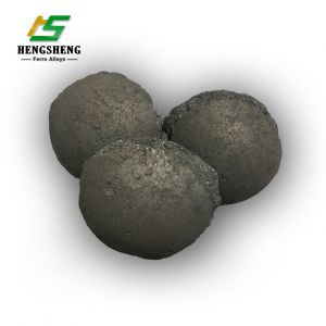 High Purity Ferro Silicon Slag Briquette Ball