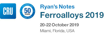 The 25th CRU Ryan's Notes Ferroalloys Conference